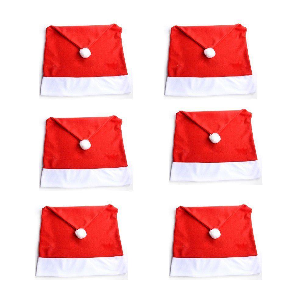 Christmas chair covers - 6 Christmas Chair Covers